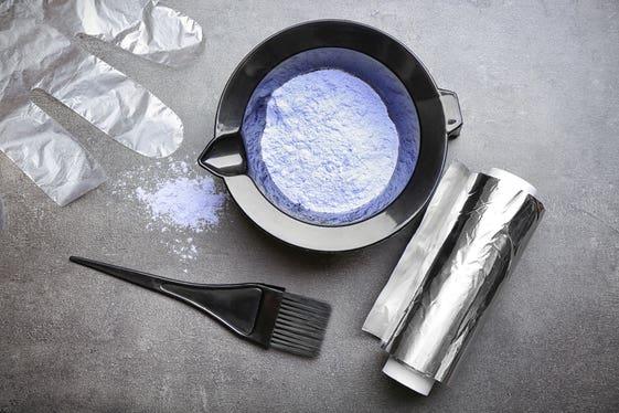 طريقة صبغة الشعر بالبيت | افضل طريقة بمكونات بسيطة