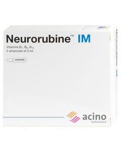Neurorubine 3 ml 5 Ampoules (Refrigerator)
