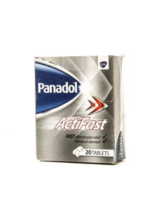 Panadol-Actifast 500 mg Tablet 20pcs
