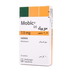 Mobic 7.5 mg Tablet 10pcs