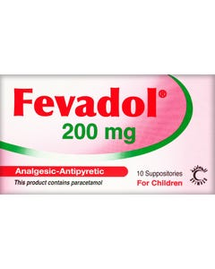 Fevadol 200 mg Suppository 10pcs