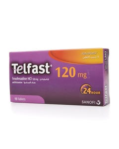 Telfast 120 mg Tablet 15pcs