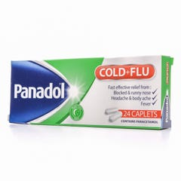 Panadol-Cold&Flu Caplet 24pcs