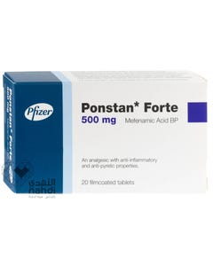 Ponstan-Forte 500 mg Tablet 20 pcs