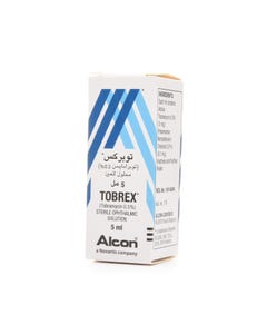 Tobrex 0.3% Eye Drop 5 ml