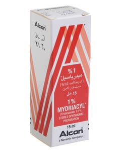 Mydriacyl 1% Eye Drop 15 ml