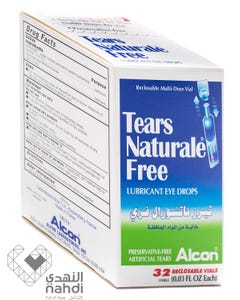 Tears-Natural-Free Eye Drop 32pcs