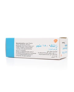 Zantac 150 mg Effervescent Tablet 15pcs