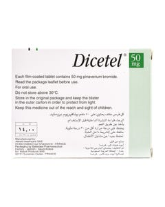 Dicetel 50 mg Tablet 20pcs
