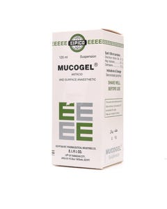 Mucogel Suspension 125 ml