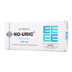 No-Uric 100 mg Tablet 50pcs