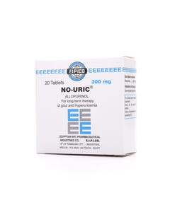No-Uric 300 mg Tablet 20pcs