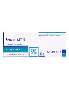 Benzac-Ac 5% Gel 60 gm