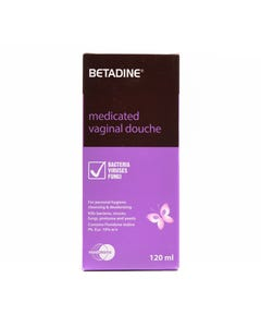 Betadine 10% W/V Vaginal Douche 120ml