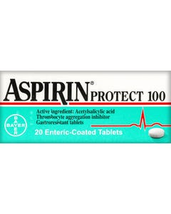 Aspirin-Protect 100 mg Tablet 20pcs