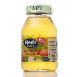 هيرو بيبي عصير أطفال تفاح 130 مل