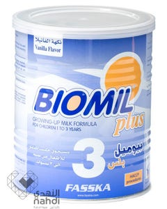 Biomil Plus Baby Milk  (3) 400 gm