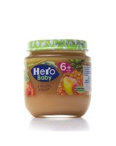 هيرو بيبي أكل أطفال 3 أنواع فواكة 125 جم