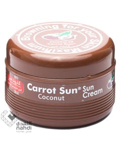 Carrot Sun Tan Cream Coconut 350 ml