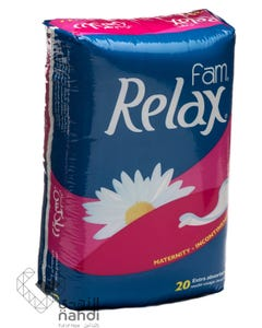 Relax Pads 20 pcs