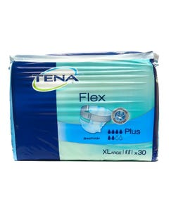 Tena Flex Plus Diapers XLarge 30 pcs