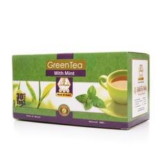 وادي-النحل شاي اخضر بالنعناع