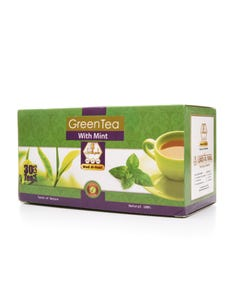 Wadi-Alnahil Tea Green Tea With Mint