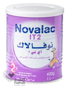 Novalac Baby Milk IT (2) 400 gm