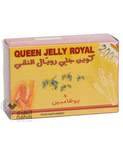 Queen 2000 Capsule 30pcs Royal Jelly 2000+Yohimbe