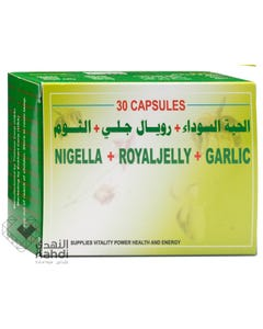 Nigella-Royal-Jelly-Garlic 30 Capsules