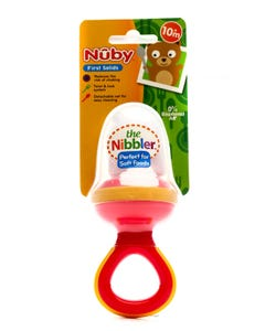 Nuby Baby Nippler For Vegetables & Fruits Above 10 Month (Bpa Free)5360/5397