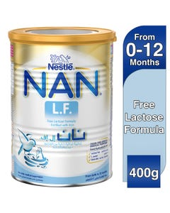 NanBaby Milk LF Lactose Free Infant Formula 400 gm
