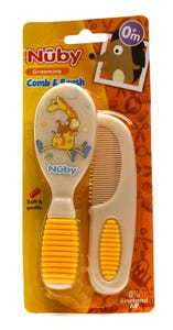 Nuby Baby Comb & Brush 4770