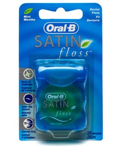 Oral-B Dental Floss Satin Floss Mint