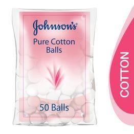 Johnson Cotton Ball 50 pcs
