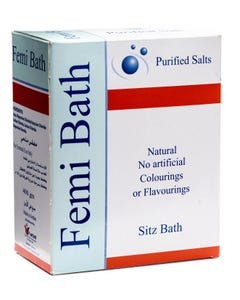 Femibath Sitz Bath Purified Salts 400 gm