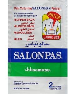 Salonpas Patches Large 2 Pcs