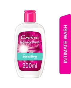 Carefree Intimate Wash For Sensitive 200 ml