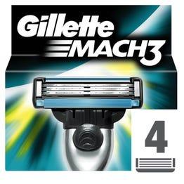 Gillette Blades Mach3 Refill 4 pcs