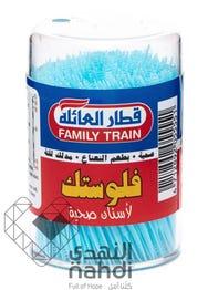 فلوستيك نكاشة اسنان بلاستيك 300 قطعة