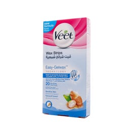 Veet Wax Strips For Sensitive Skin 20 pcs