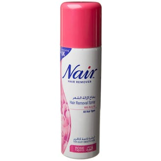 Nair Hair Removal Spray With Baby Oil Rose Fragrance 200 Ml