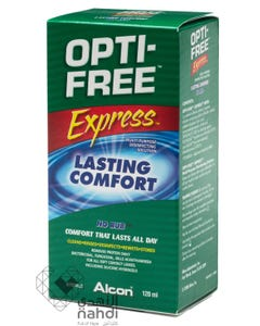 Opti-Free Lenses Solution Express For Contact Lenses S 120 ml