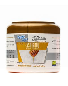 Cap-Fashkool Hot Oil Treatment Honey & Milk Extract 500 ml