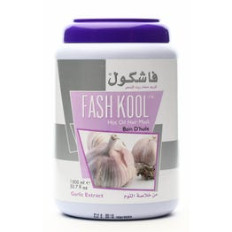 Cap-Fashkool Hot Oil Treatment Garlic Extract 1500 ml