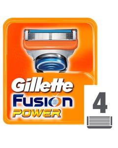 Gillette Blades Fusion Power 4 pcs
