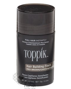 Toppik Hair Fibers Building Medium Brown 12 gm