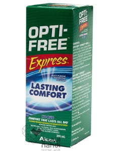 Opti-Free Lenses Solution Express For Contact Lenses L 355 ml