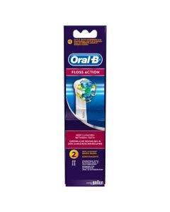 Oral-B Toothbrush Floss Action Refill EB-25 2 pcs