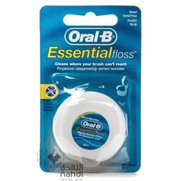 Oral-B Dental Floss Essential Waxed Mint